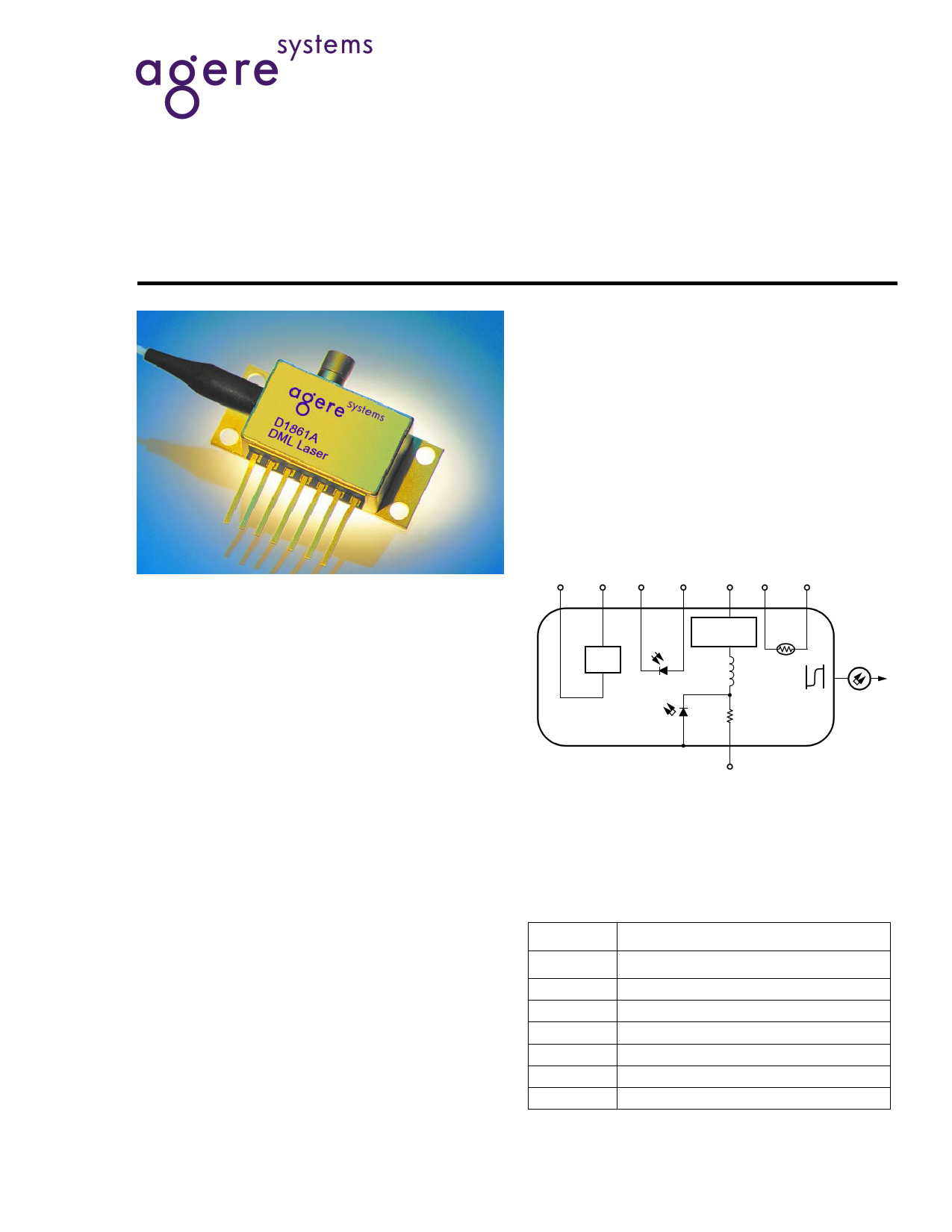 D1861A040 Datasheet, Description
